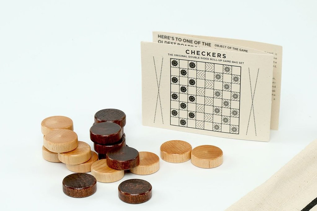 Let's Play! Backpack Backgammon & Checkers
