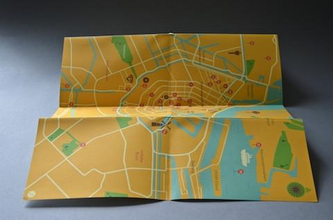 """Supertime Amsterdam"" City Map"