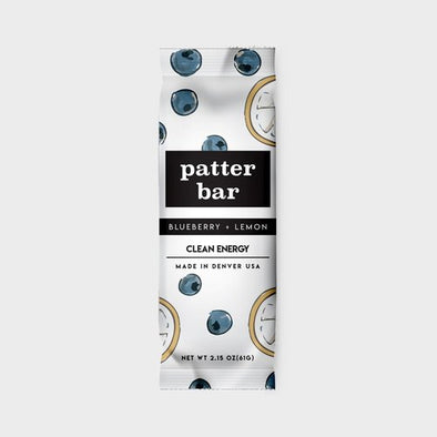 Patterbar: Blueberry + Lemon