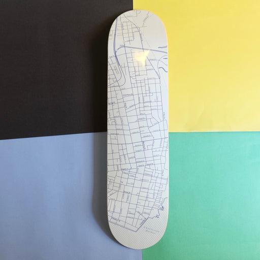 Charleston Map Skateboard Deck