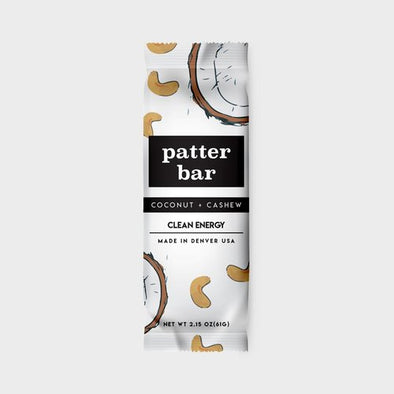 Patterbar: Coconut + Cashew