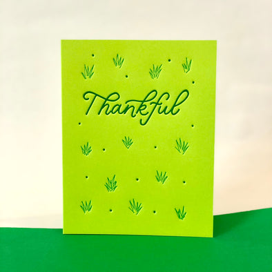 Thankful Card