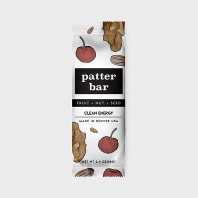 Patterbar: Fruit + Nut + Seed
