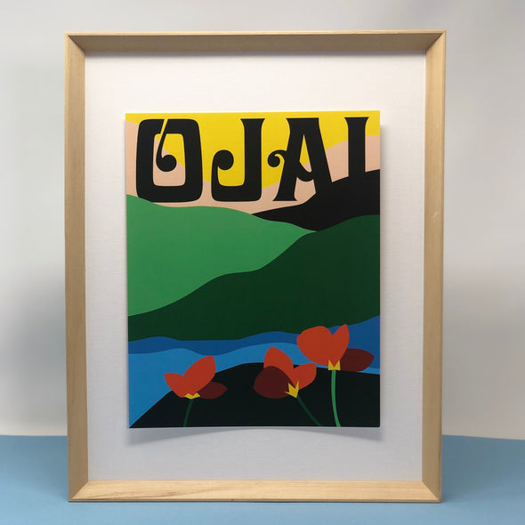 It's All Good in Ojai Print