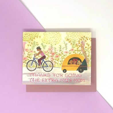 Biking Mama Mother's Day Card