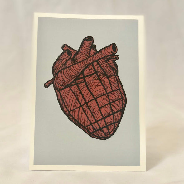 """Heart of Charleston"" Print"