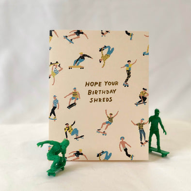Birthday Shreds Card