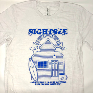 Sightsee Anniversary T-Shirt - White/Blue