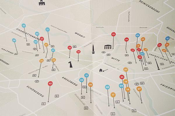 """When We Think of Berlin"" City Map"
