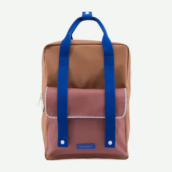 Sticky Lemon Large Envelope Backpack | Sugar Brown