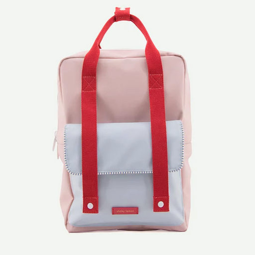 Sticky Lemon Large Envelope Backpack | Mendl's Pink