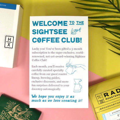 Guest Roaster Coffee - 3 Month Gift Subscription