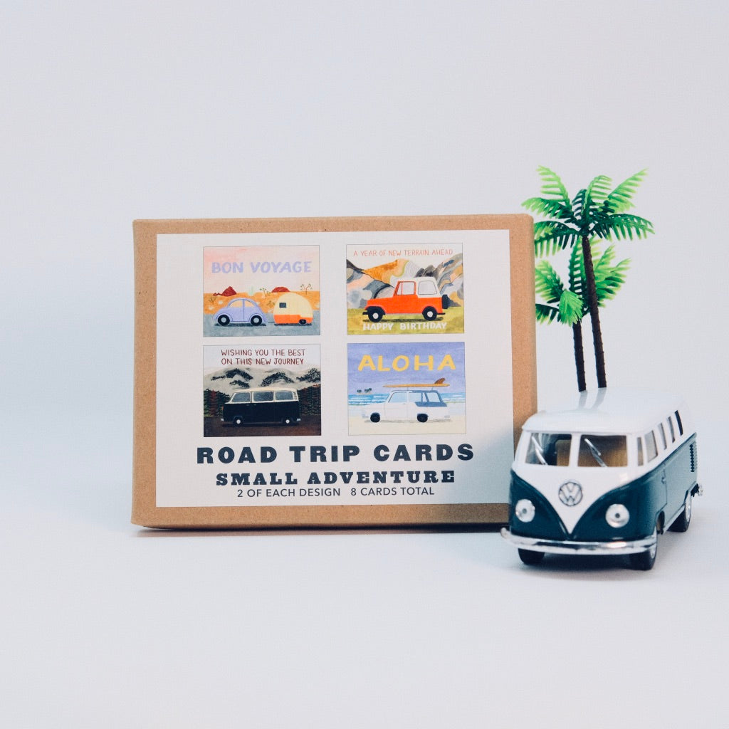 Road Trip Cards Set