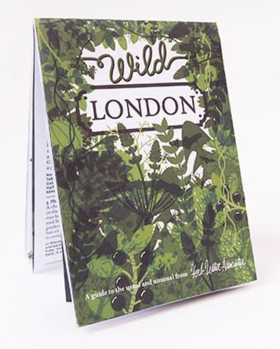 """Wild London"" City Map"