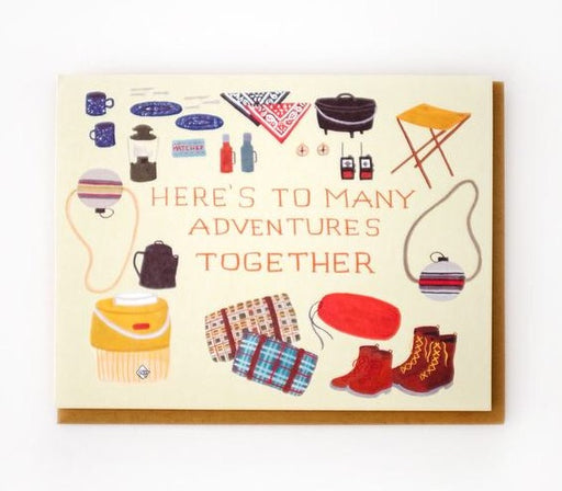 Many Adventures Together Card