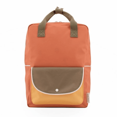 Large Wanderer Backpack | Faded Orange