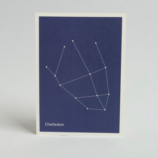 Constellation Map Print:  Charleston