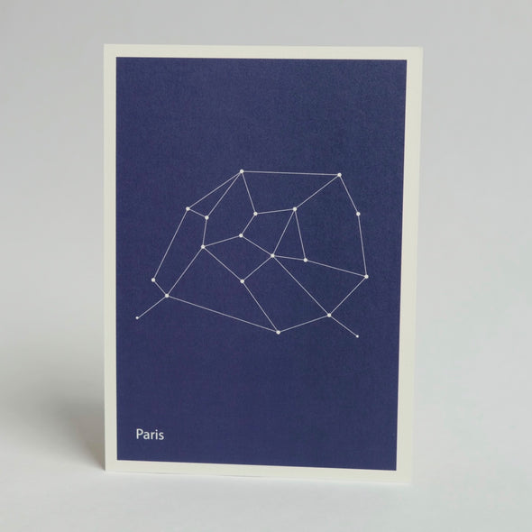 Constellation Map Print:  Paris