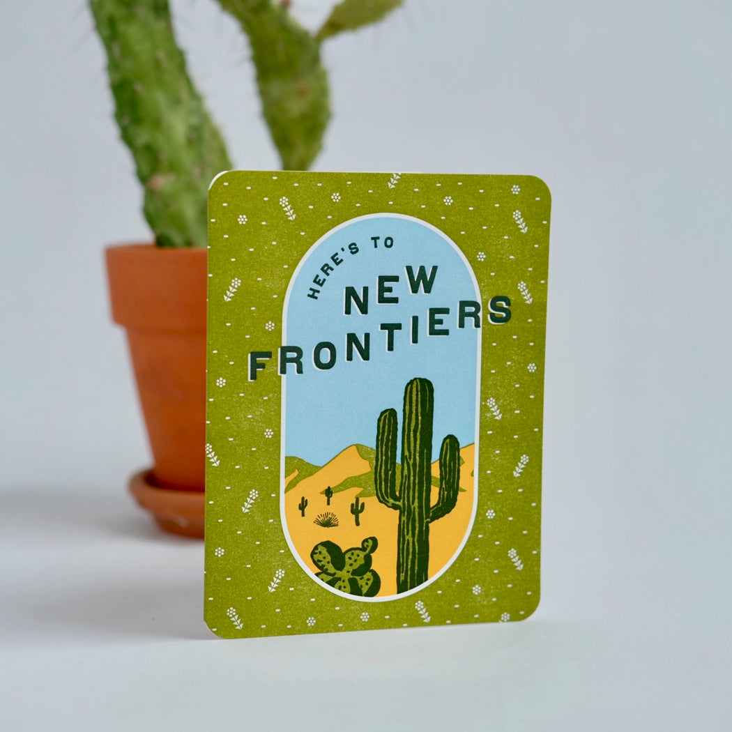 New Frontiers Card