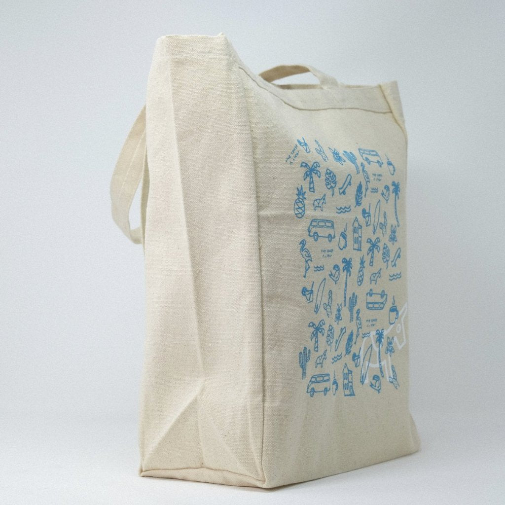 Sightsee Pattern Tote Bag