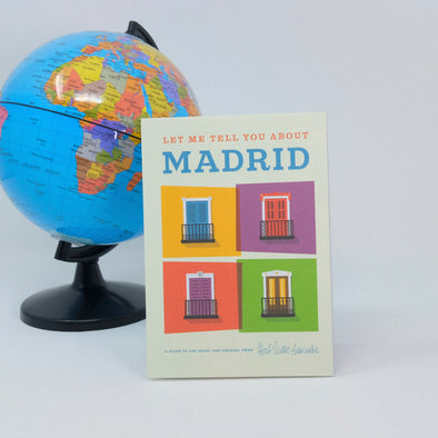"""Let Me Tell You About Madrid"" City Map"