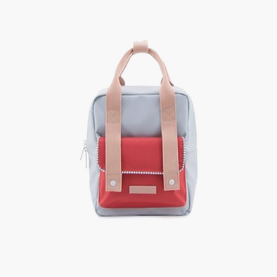 Small Envelope Backpack | Agatha Blue