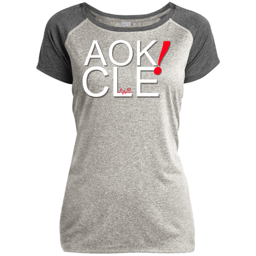 AOK! Ladies Heather on Heather Performance T-Shirt