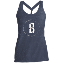Load image into Gallery viewer, Tribewear Ladies' Cosmic Twist Back Tank