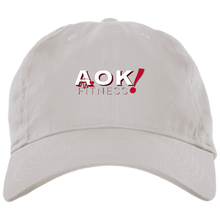 Load image into Gallery viewer, AOK! Brushed Twill Unstructured Cap