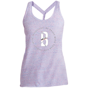 Tribewear Ladies' Cosmic Twist Back Tank