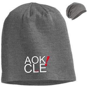 AOK! CLE Slouch Beanie
