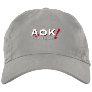 AOK! Brushed Twill Unstructured Cap