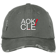 Load image into Gallery viewer, AOK! CLE Distressed Cap