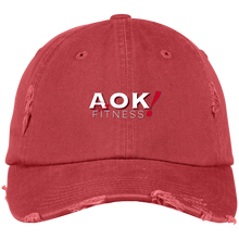 Load image into Gallery viewer, AOK! Fitness Distressed Cap