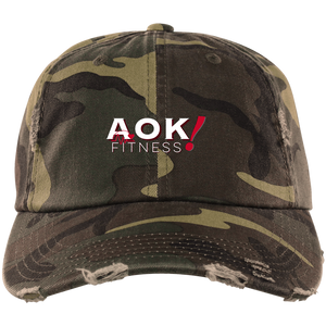 AOK! Fitness Distressed Cap