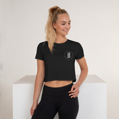Sweat with Intention Crop Tee