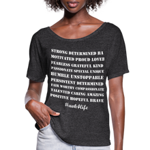 Load image into Gallery viewer, Women's Flowy T-Shirt - charcoal gray