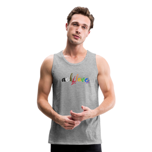 AOK! 2 Love Unisex Tank - heather gray
