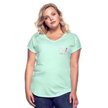 Load image into Gallery viewer, Exercise is FUN! Women's Tri-Blend V-Neck T-Shirt - mint