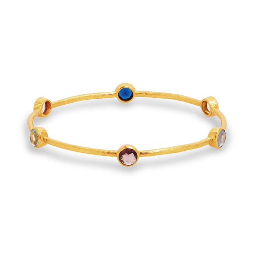 Julie Vos Milano 6-Stone Bangle - Multi