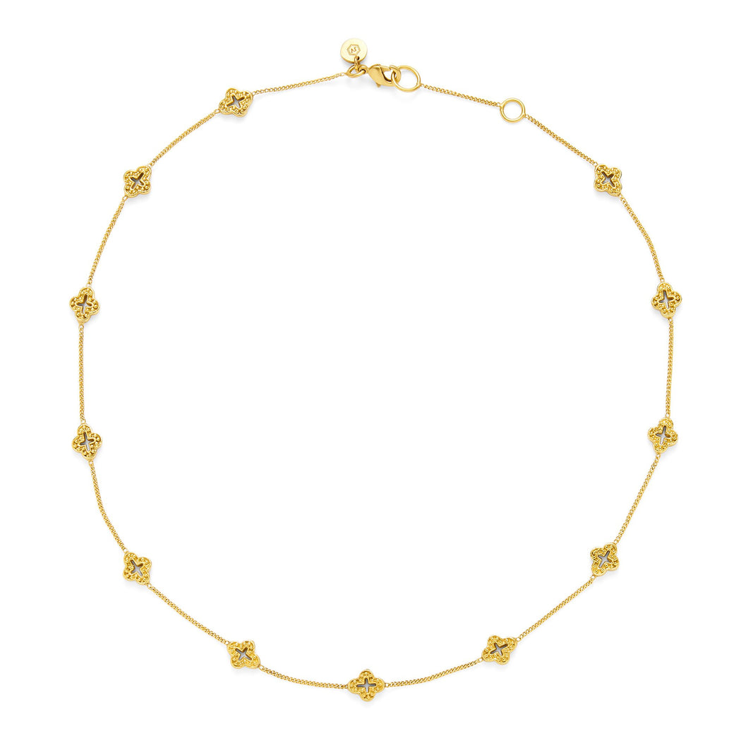 Julie Vos Florentine Demi-Delicate Necklace