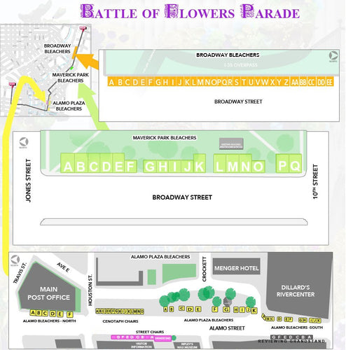 Battle of the Flowers Parade Tickets