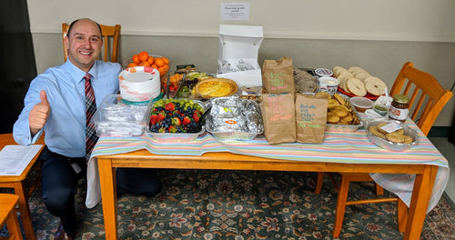 Teachers' Breakfast Donation — Upper School