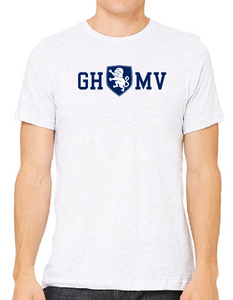 White T-Shirt with Navy GHMV