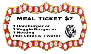 Carnival Meal Ticket