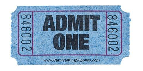 Carnival One Dollar Tickets — Packs of $10 or $20