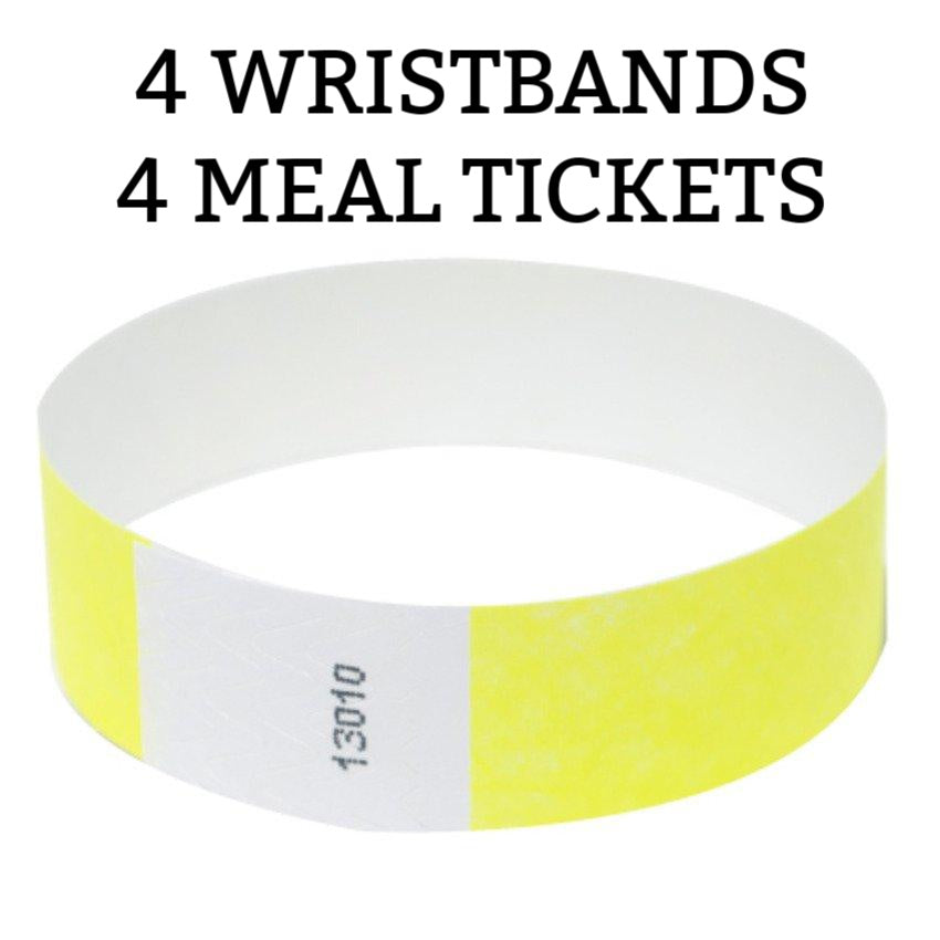 Carnival Wristband & Meal Ticket Bundle