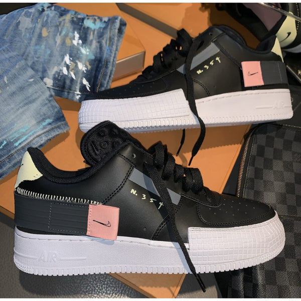 NIKE AIR FORCE 1 N354 BLACK