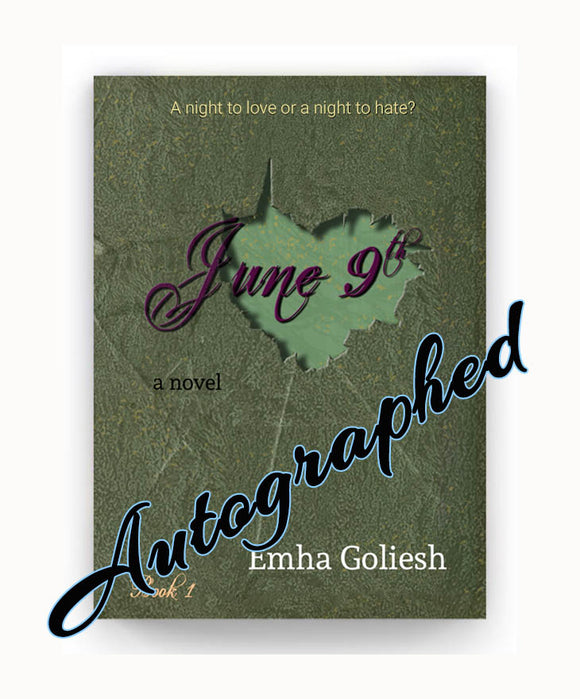 June 9th book cover with