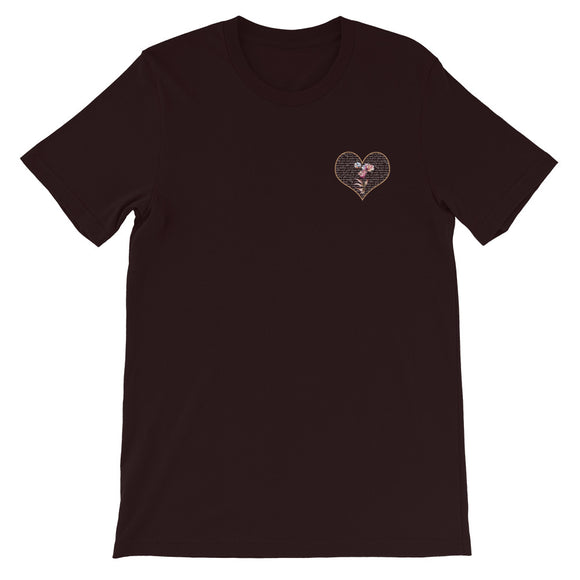 Flower Heart Corner Love Tee